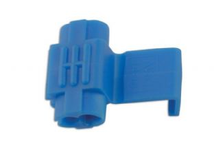 Connect 30246 Blue Splice Connector 0.75-2.5mm Pk 100